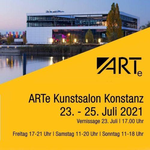Einladung zur Ausstellung beim ARTe Kunstsalon Konstanz